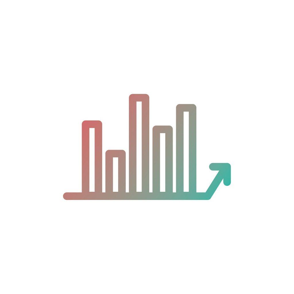 chart, line, icon