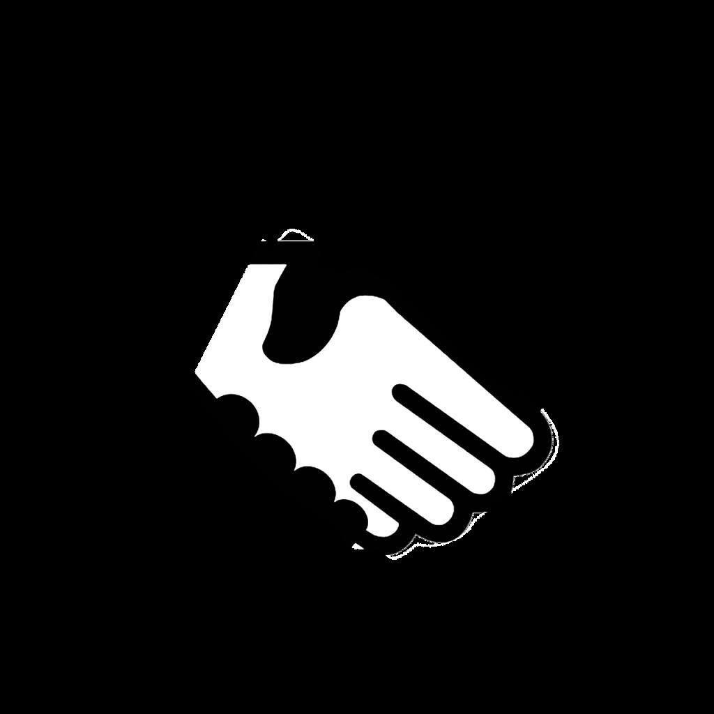 computer icon, handshake, business